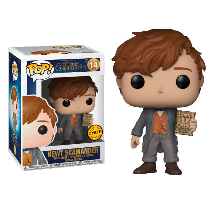 Funko POP o Figura POP Fantastic Beasts 2 The Crimes of Grindelwald Newt Scamander Chase