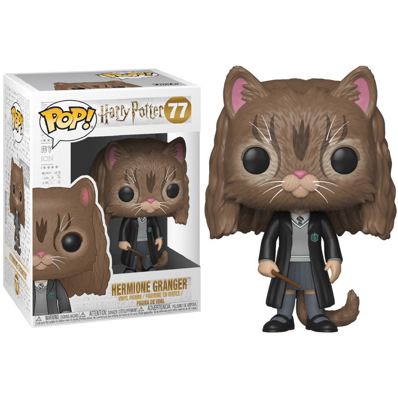 Figura POP Harry Potter Hermione es un Gato