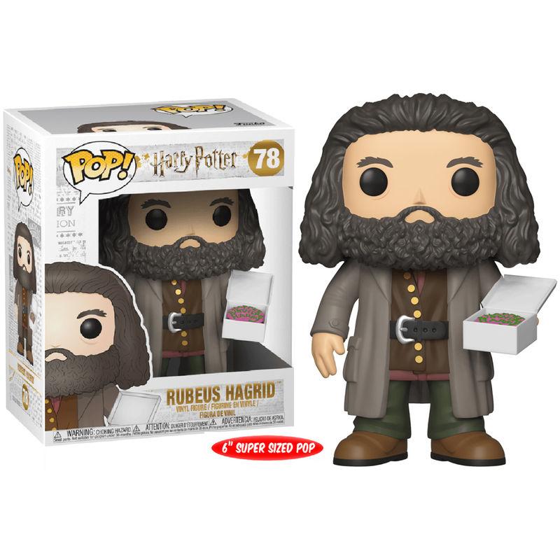 Pre-pedido Funko POP o Figura POP Harry Potter Hagrid con pastel 15cm