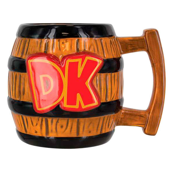 Taza 3D Donkey Kong Super Mario Bros Nintendo 5055964714123