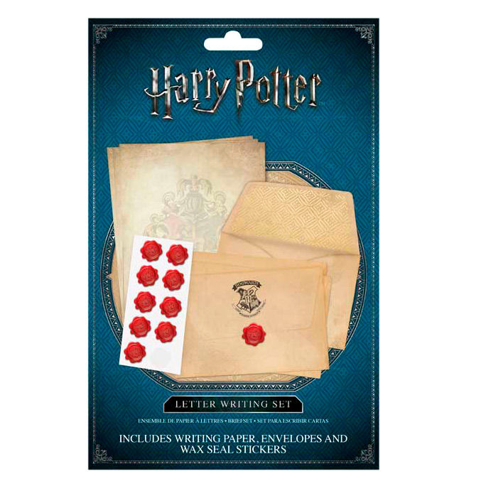 Set escritura cartas Hogwarts Harry Potter