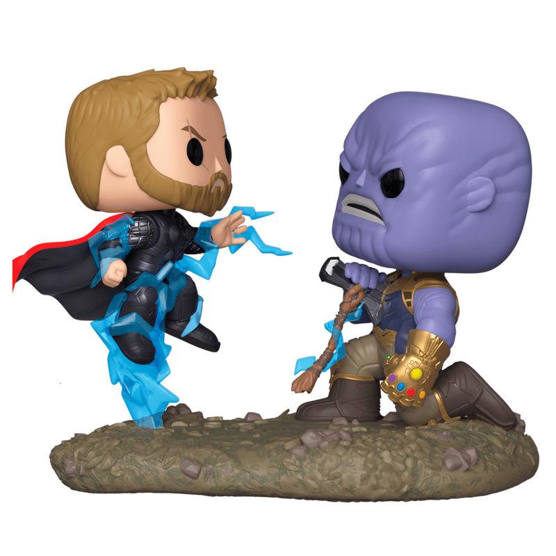 Figura POP Marvel Avengers Thor vs Thanos (1)