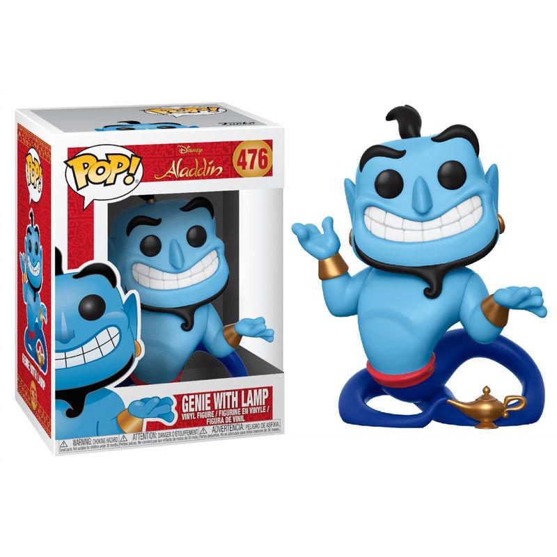 Figura POP Disney Aladdin Genio con Lampara