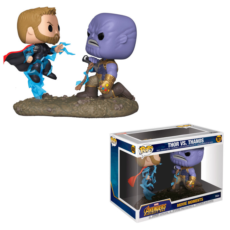 Figura POP Marvel Avengers Thor vs Thanos