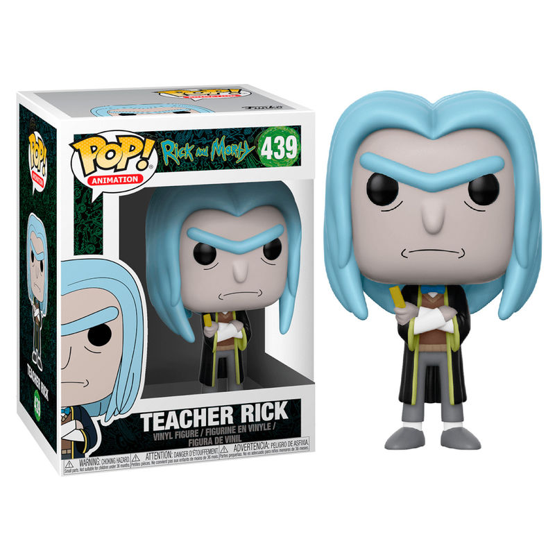 RICK & MORTY, TEACHER RICK, RICK