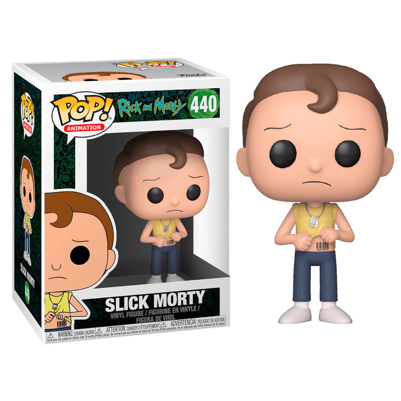 MORTY, SLICK MORTY, RICK & MORTY, POP FUNKO