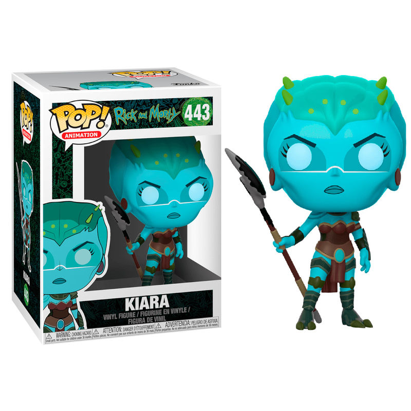 Figura POP Rick & Morty Kiara