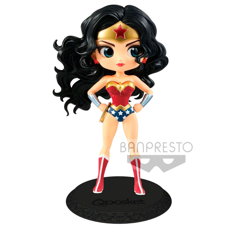 Figura Wonder Woman DC Comics Q Posket A 14cm