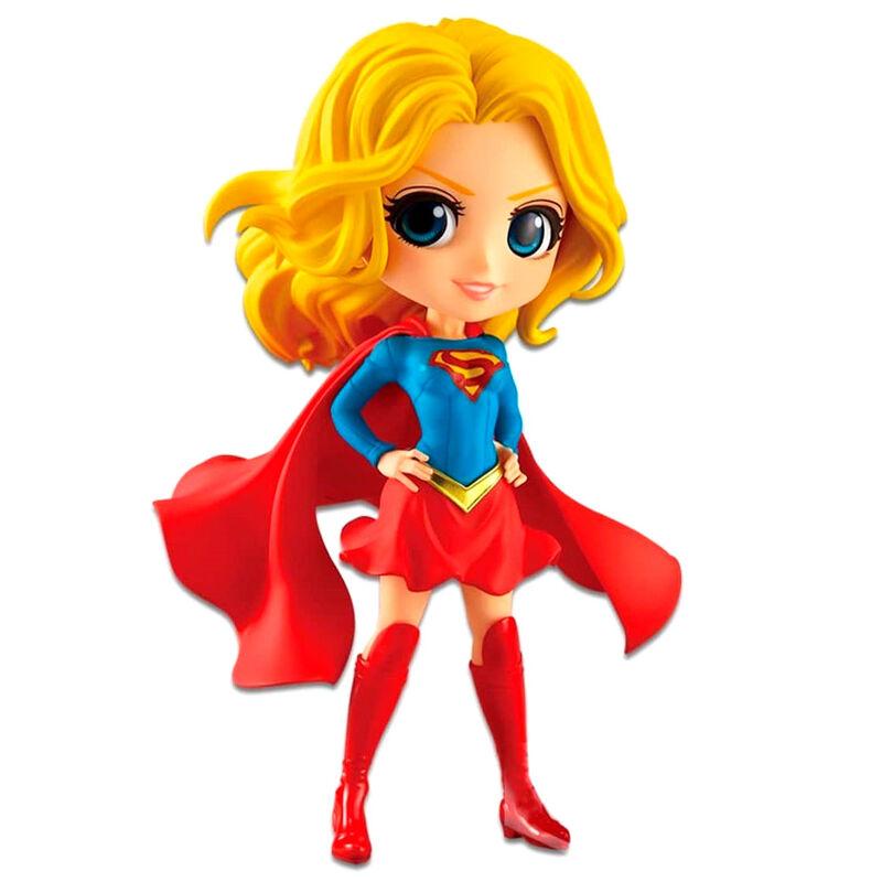 Figura Supergirl DC Comics Q Posket B 14cm 3296580827534