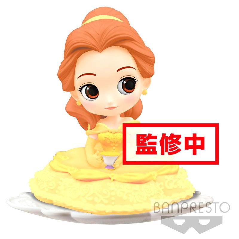 Figura Bella La Bella y la Bestia Disney Q Posket B 14cm 3296580827572