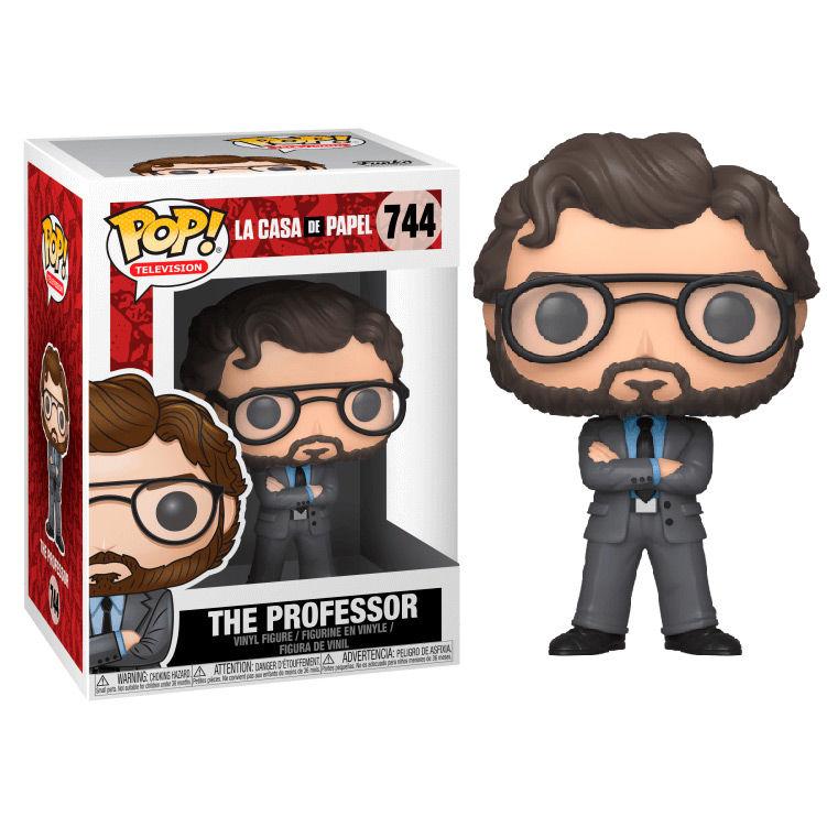 Figura POP La Casa de Papel El Profesor 889698344968