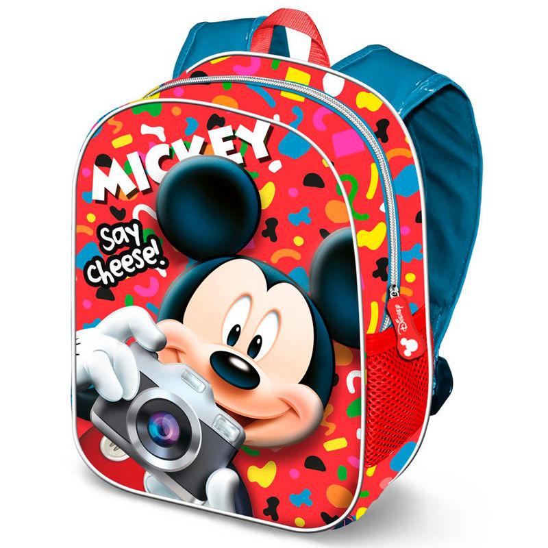 Mochila 3D Say Cheese Mickey Disney 31cm 8435376389961