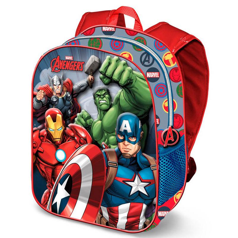 Mochila 3D Vengadores Avengers Marvel 31cm 8435376390158
