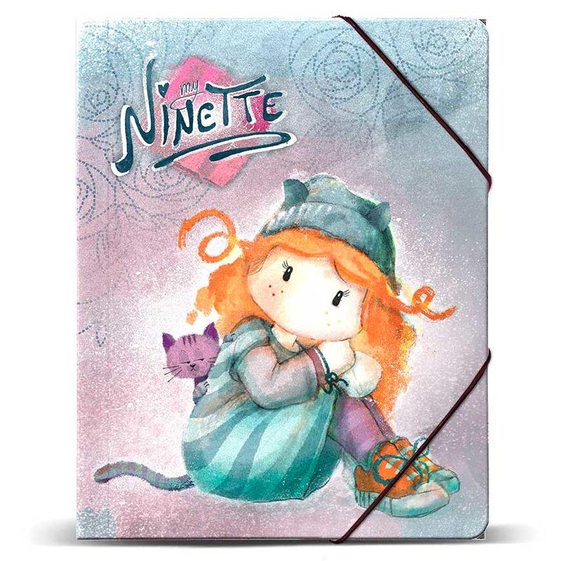 Carpeta Forever Ninette gomas