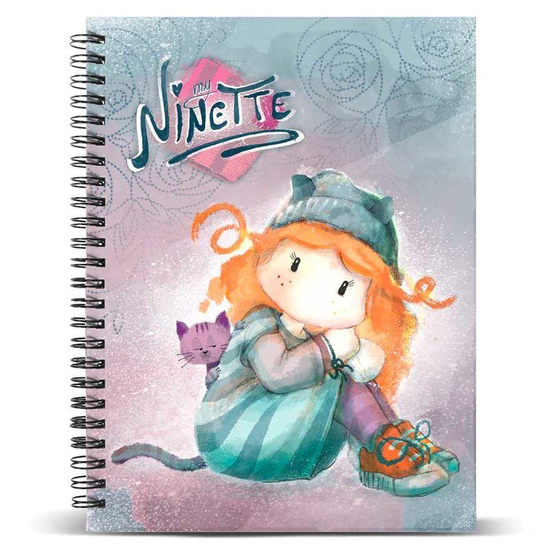 Cuaderno A4 Forever Ninette