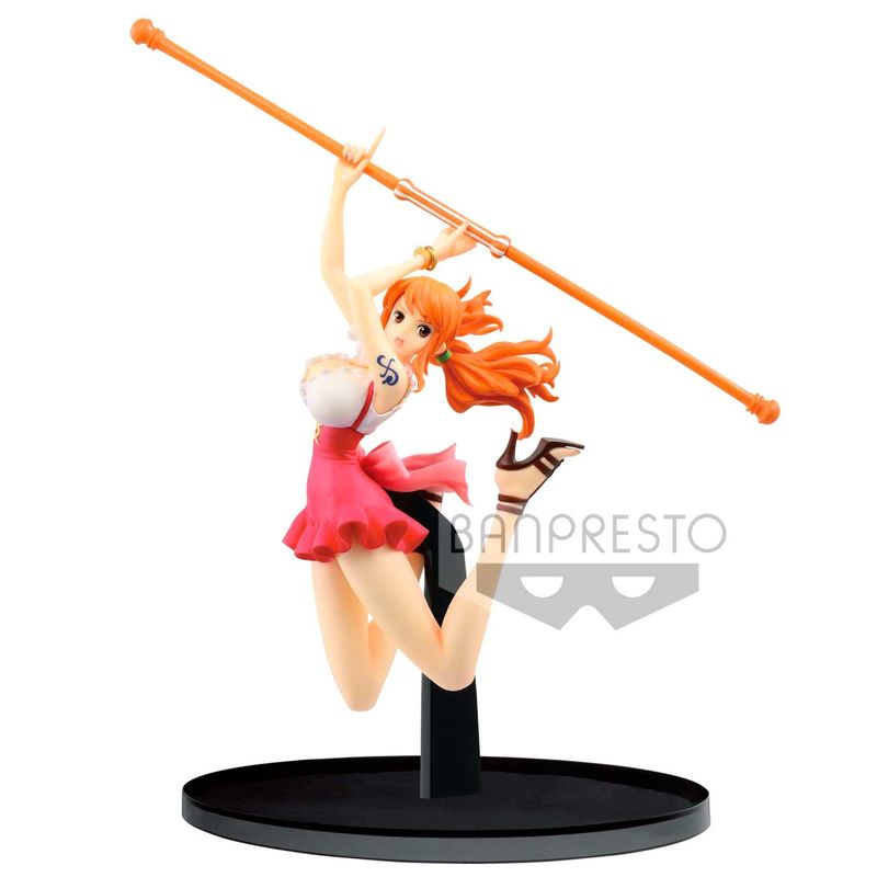 One Piece Colosseum World Nami Banpresto Figura 13cm doBxCe
