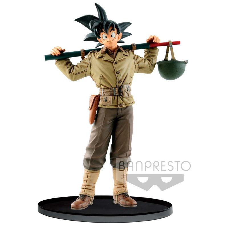 Figura Banpresto World Colosseum Son Goku Dragon Ball Z 18cm