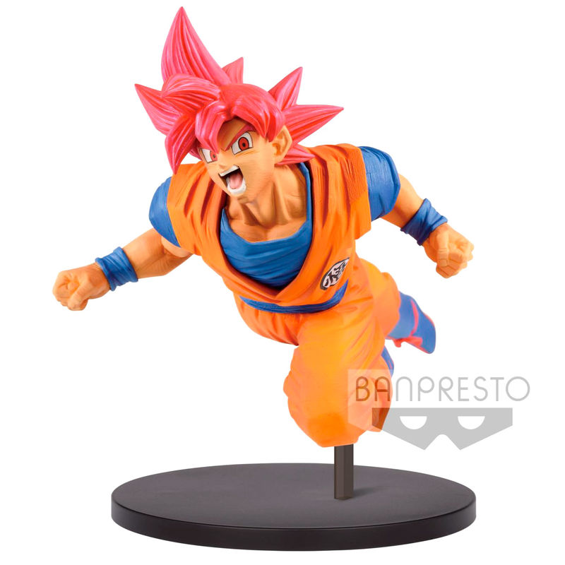 Figura Super Saiyan God Son Goku Fes Dragon Ball Super 15cm
