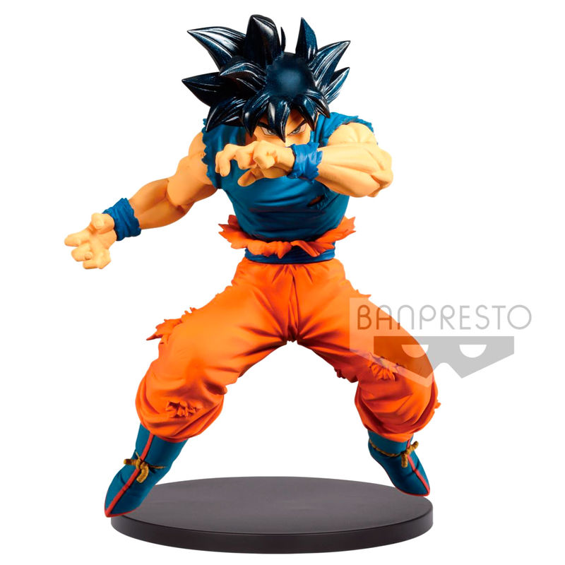 Figura Blood of Saiyans Ultra Instinct Sign Son Goku Dragon Ball Z 16cm