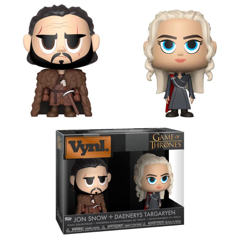 Figuras Vynl Juego de Tronos Jon & Daenerys