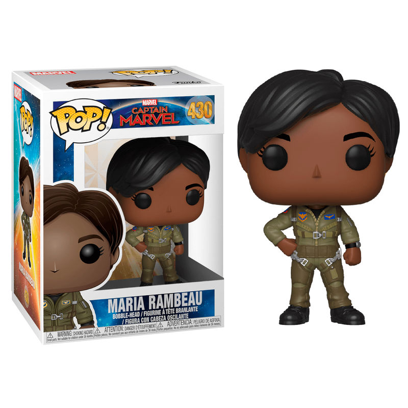 Figura POP Marvel Capitana Marvel Maria Rambeau