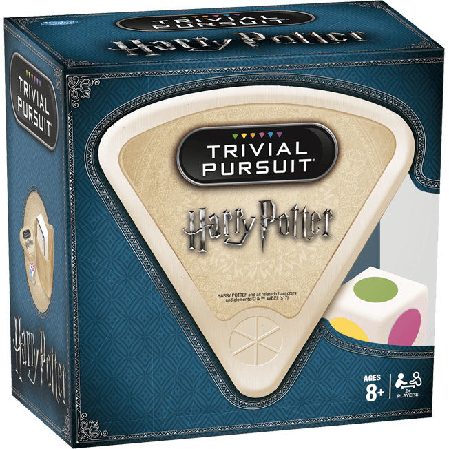 Juego Trivial Pursuit Bite Harry Potter en Español (2)