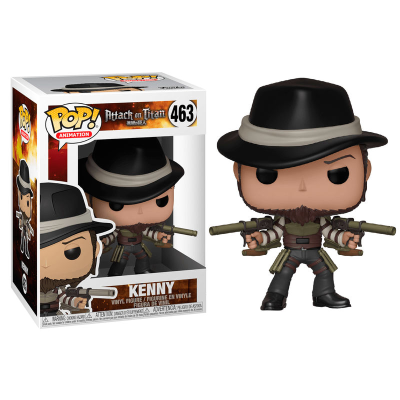 Figura POP Attack on Titan Season 3 Kenny