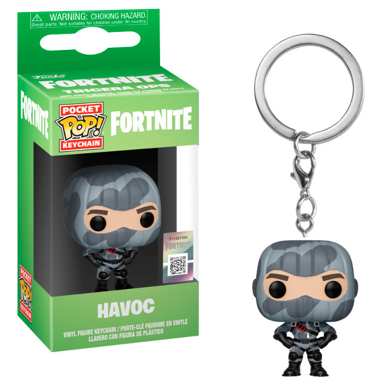 Llavero Pocket POP Fortnite Havoc 889698369725