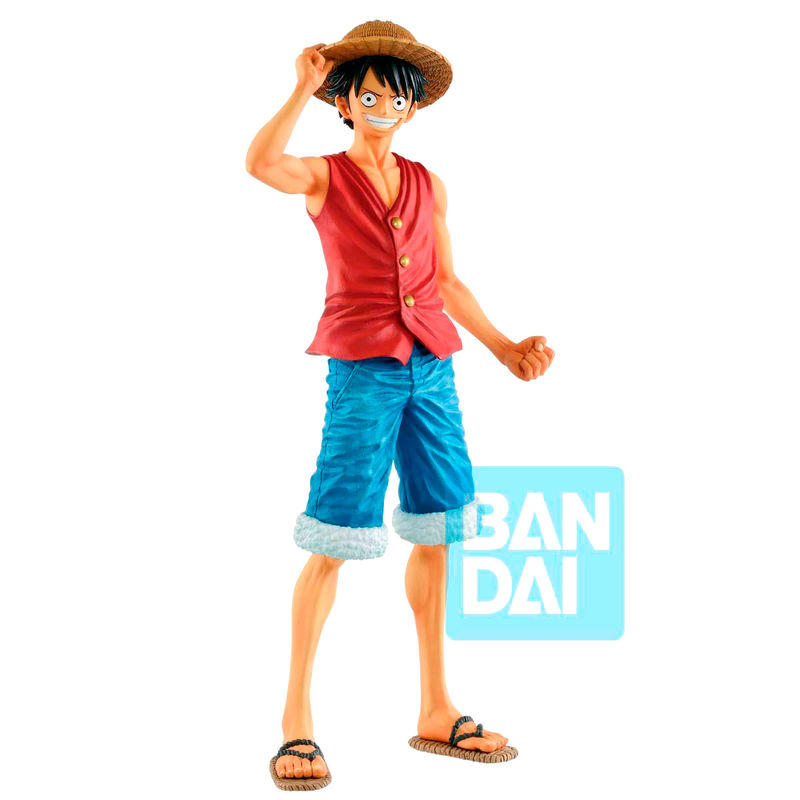 One Piece 20th History Masterlise Monkey D Luffy Figure 25cm