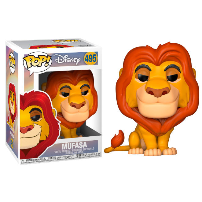 Figura POP Disney El Rey Leon Mufasa