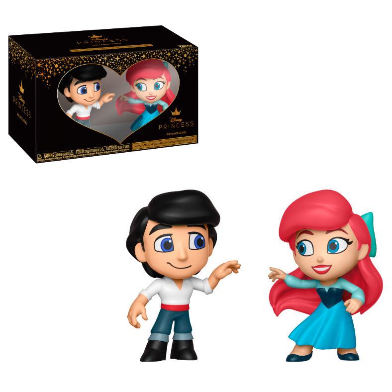 Figuras Vinyl Disney La Sirenita Eric & Ariel