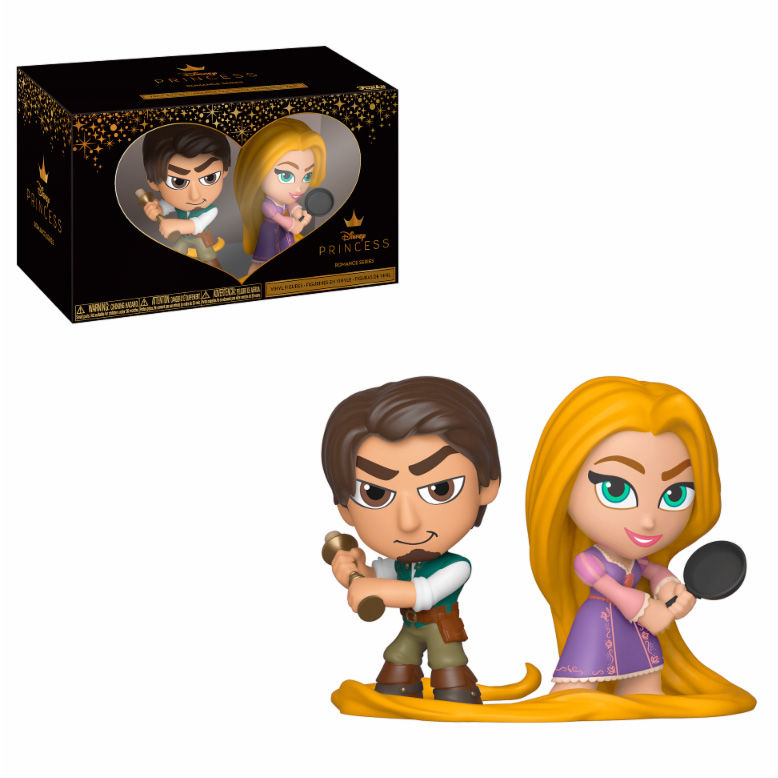 Figuras Vinyl Disney Rapunzel Flynn & Rapunzel