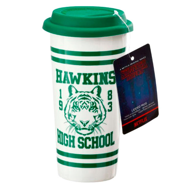 Taza viaje Hawkins High School Stranger Things