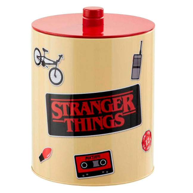Bote galletas Retro Poster Stranger Things