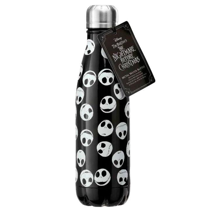 Botella metal Jack Pesadilla Antes de Navidad Disney