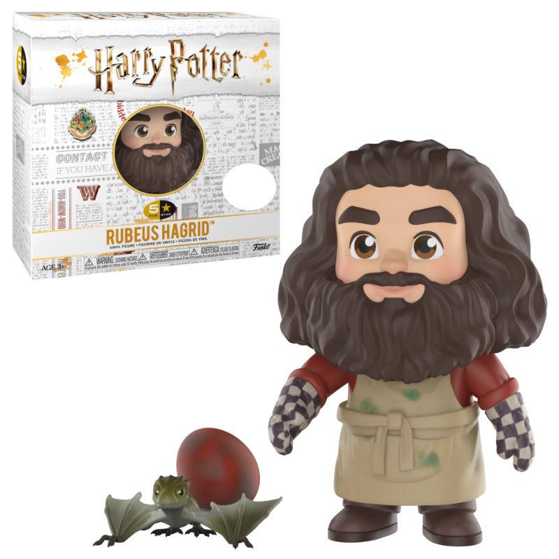Figura 5 Star Harry Potter Hagrid vinyl Exclusive