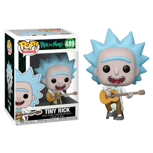 Figura POP Rick & Morty Tiny Rick with Guitar