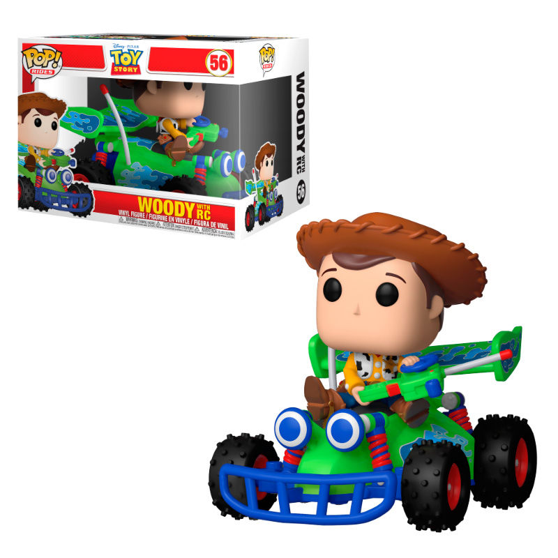 Funko POP o Figura POP Disney Pixar Toy Story Woody with RC