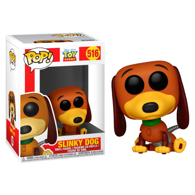 SLINKY DOG, TOY STORY, POP FUNKO, DISNEY