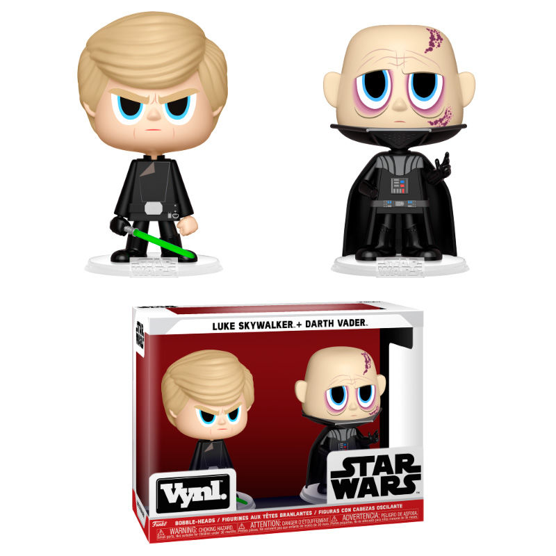 Figuras Vynl Star Wars Darth Vader & Luke Skywalker