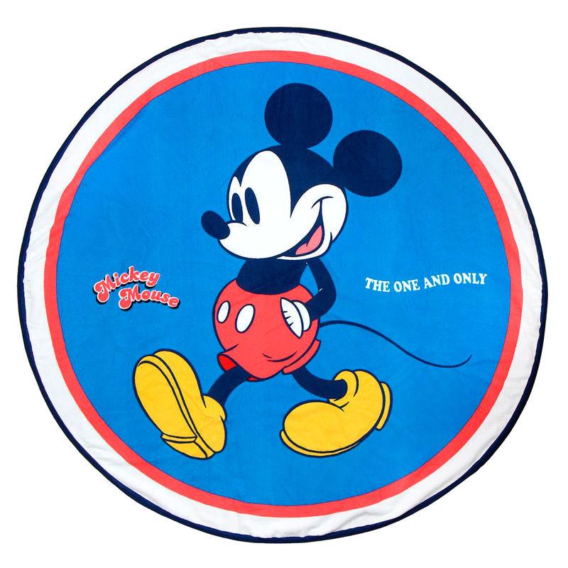 Toalla redonda Mickey Disney microfibra 8427934268047