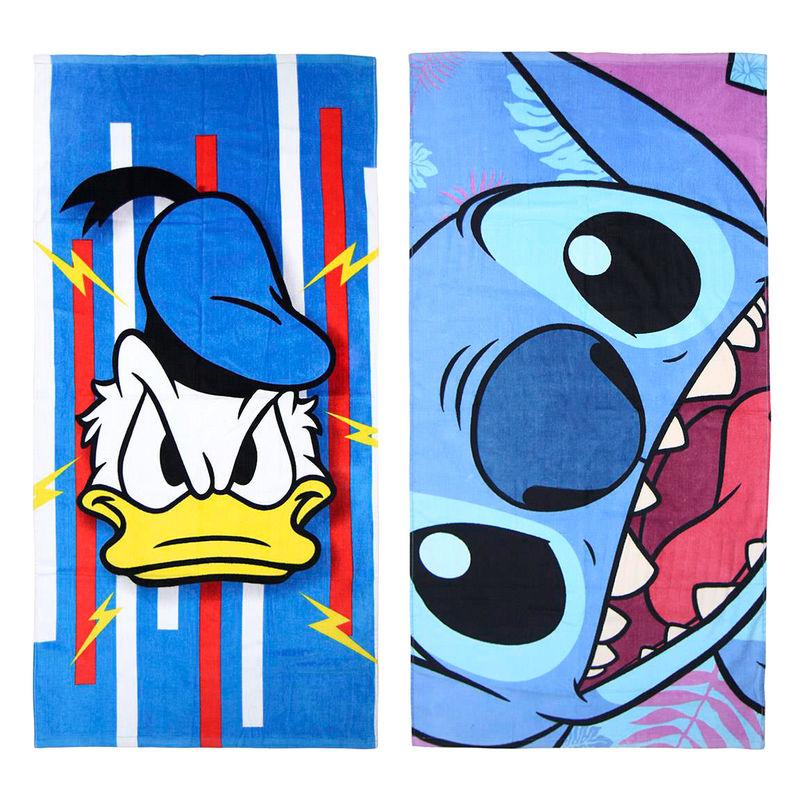 Toalla Donald Stitch Disney algodon surtido 18427934244048