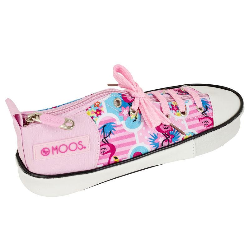 Portatodo zapatilla Moos Flamingo Pink
