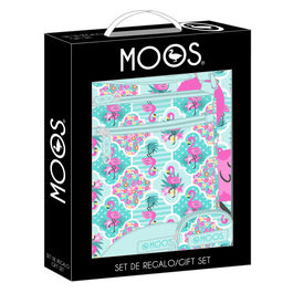 Set regalo Moos Flamingo Turquoise