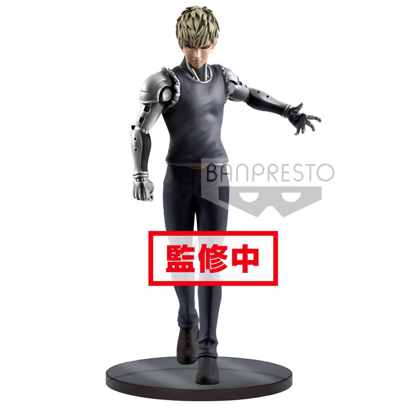 Figura Genos One Punch Man Premium 20cm