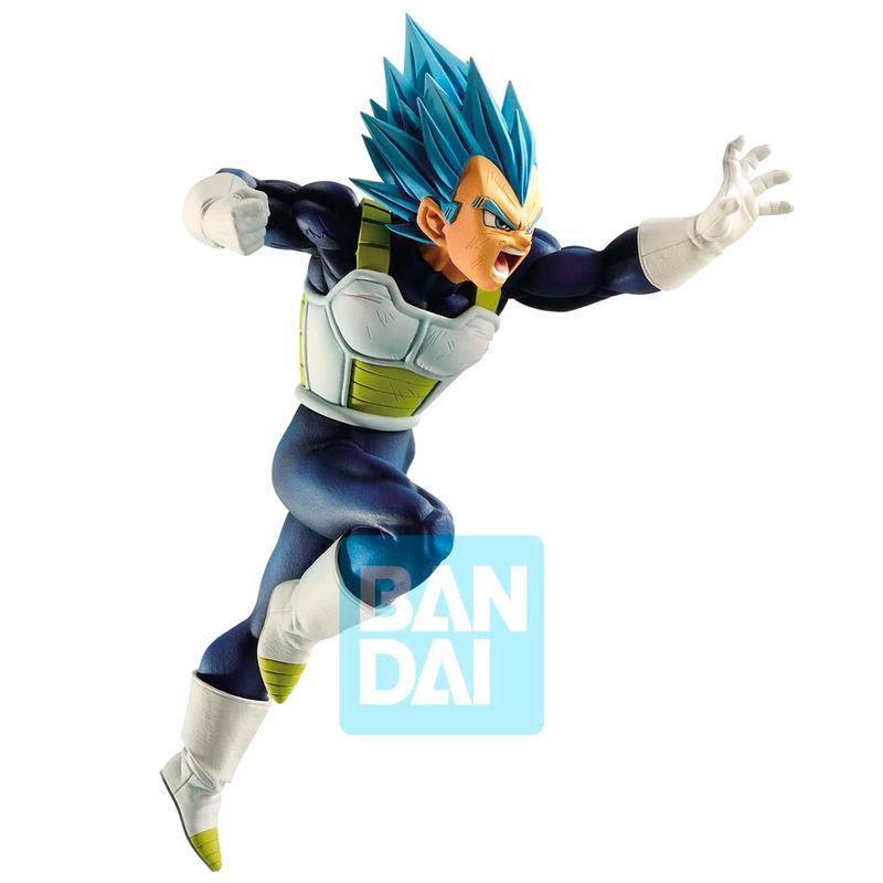 Figura Super Saiyan Vegeta Z Battle Super Saiyan God Dragon Ball Super 15cm