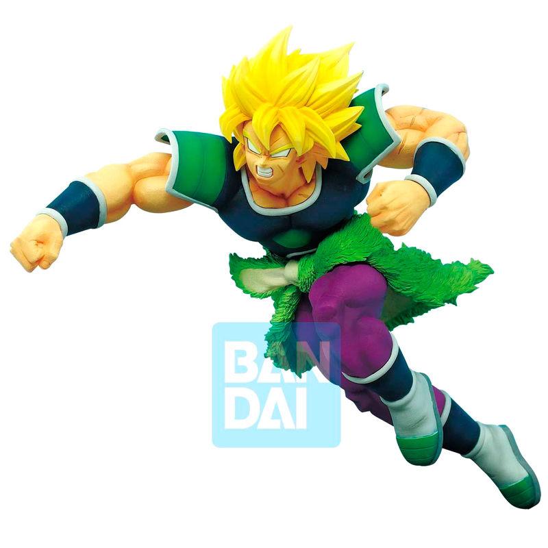 Figura Super Saiyan Broly Z Battle Dragon Ball Super 19cm 3296580851966