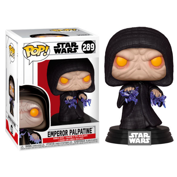EMPEROR PALPATINE, STAR WARS, POP FUNKO