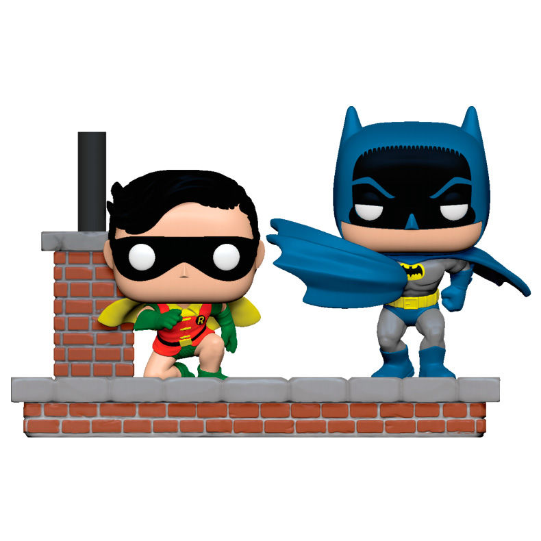 Funko POP o Figura POP DC Comics Batman 80th 1964 Batman and Robin