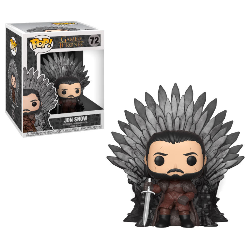 JON SNOW, POP FUNKO, GAME OF THRONE, TRONO